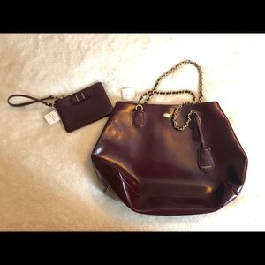 Coach Purse with Coin Purse